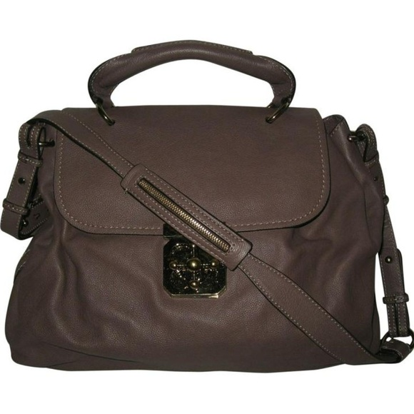 authorized site online here thoughts on Chloe Elsie Grimauve Leather Shoulder Bag NWT